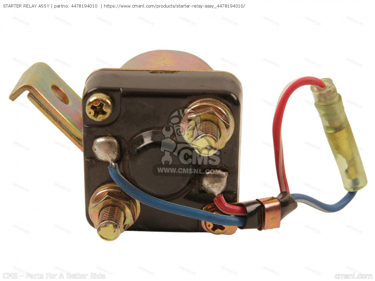 Diagram Starter Relay Assy For Xs650s Heritage Special 1983 D