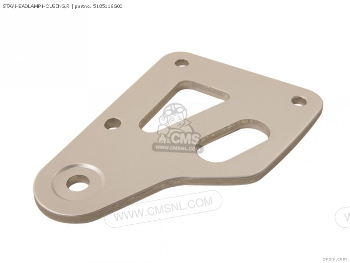 Stay, Headlamp Housing, R photo