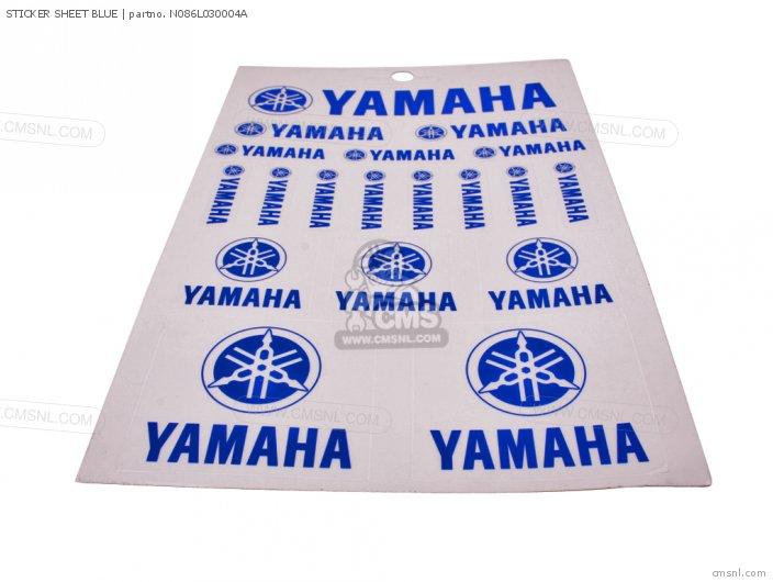 Sticker Sheet Blue photo