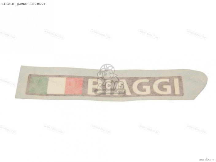 Piaggio Group STICKER PGB045274