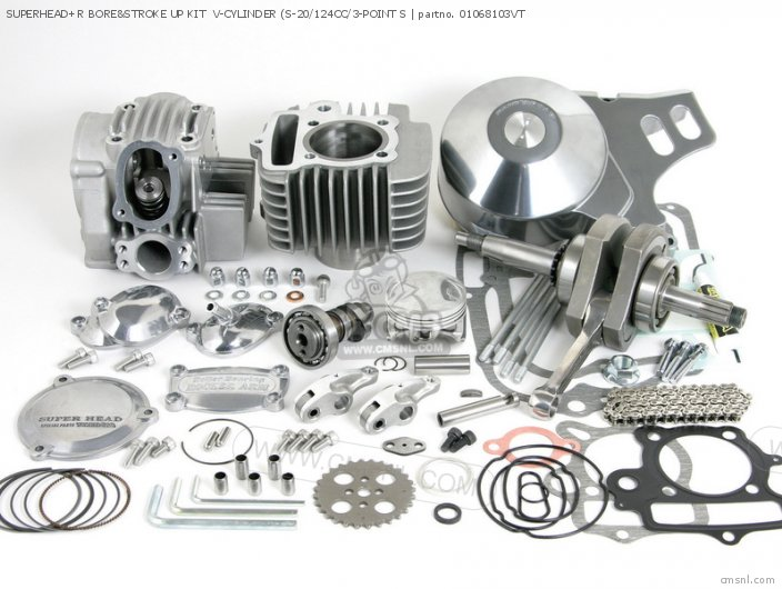 Bore Up Parts : Parts takegawa super head cc engine accessories spares