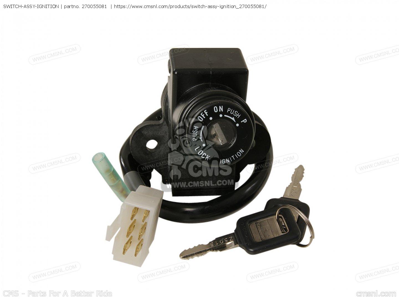 270055081  Switch-assy-ignition Kawasaki