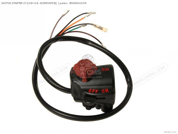 31800341701 Safety Unit Motor Honda
