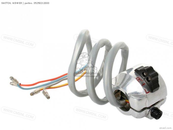 honda bf90 wiring diagram switch, winker ca95 benly usa (1320003) 35250212000 #10