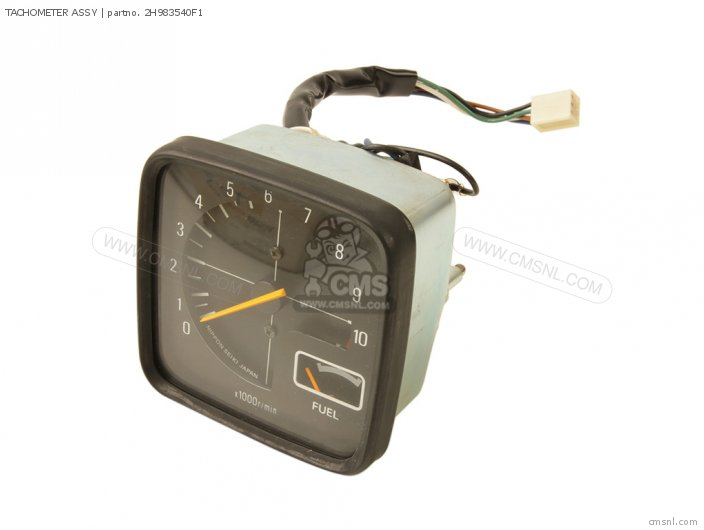 Tachometer Assy For Xs1100 1980 3x0 Europe 293x0