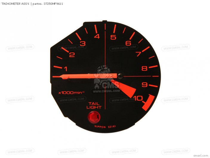 Tachometer Assy. photo