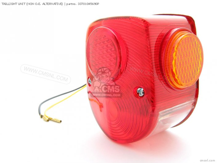 TAILLIGHT UNIT NON O E  ALTERNATIVE