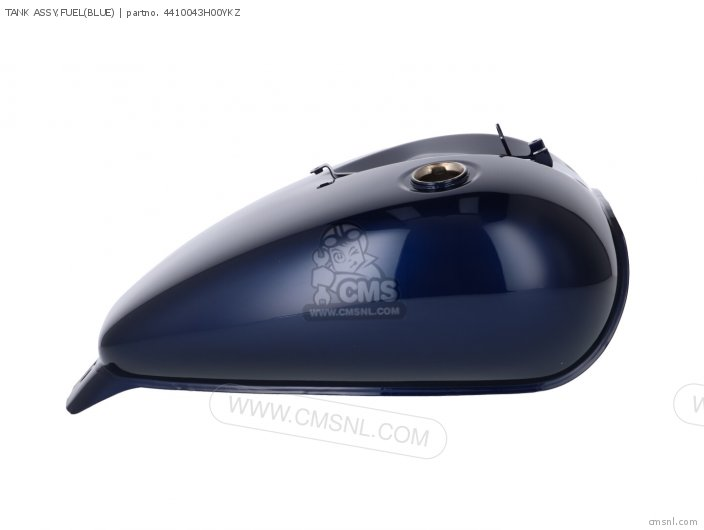 Tank Assy, Fuel(blue) photo