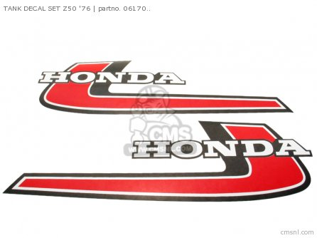 TANK DECAL SET Z50 76