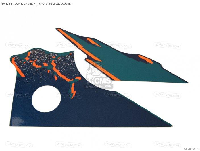 Tape Set, Cowl Under, R photo