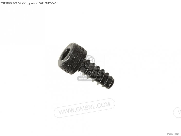 Tapping Screw,4x1 photo