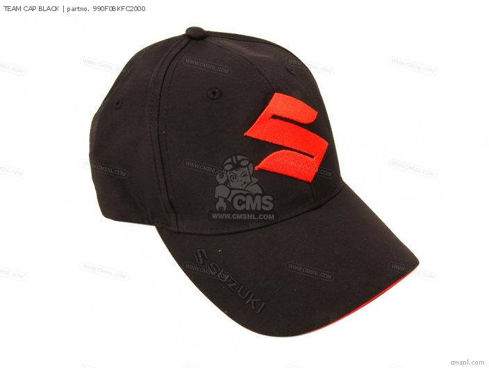 Merchandise Suzuki Team Cap Black