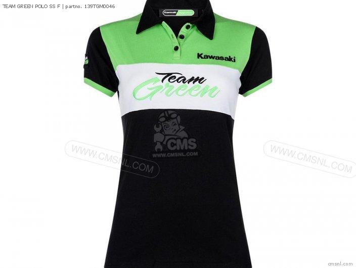 TEAM GREEN POLO SS F
