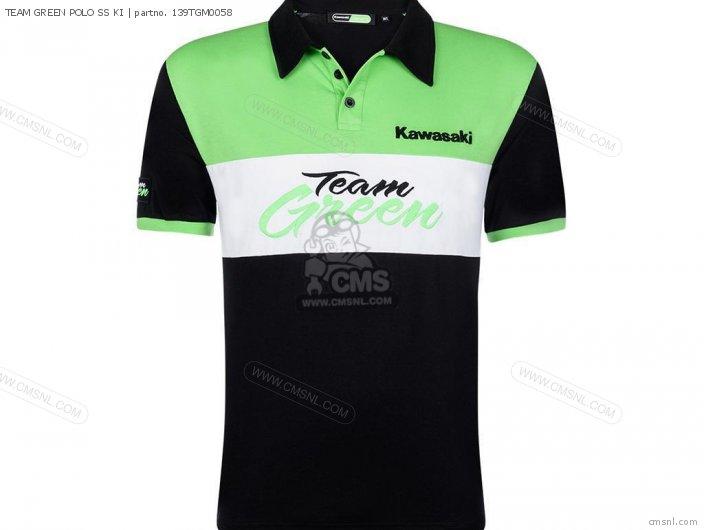 TEAM GREEN POLO SS KI