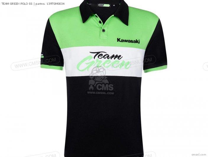 TEAM GREEN POLO SS