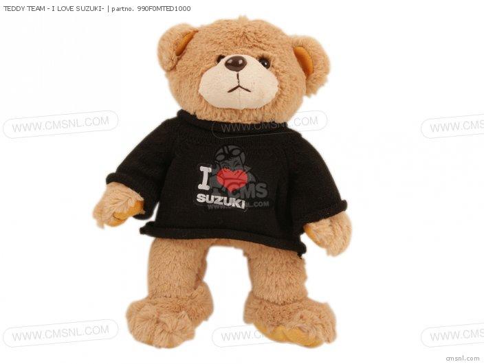 TEDDY TEAM - I LOVE SUZUKI-