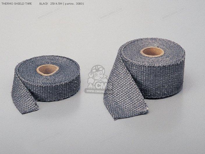 Thermo Shield Tape        Black  25x4.5m photo