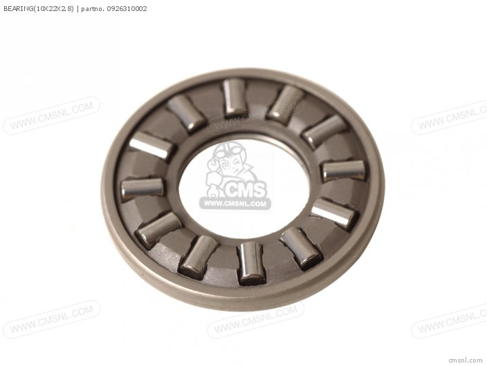 THRUST BEARING 10X22X2