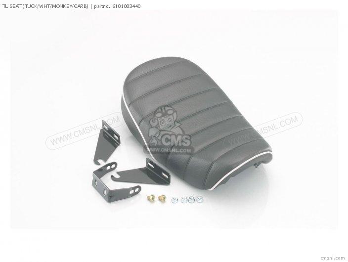 Tl Seat (tuck/wht/monkey/carb) photo