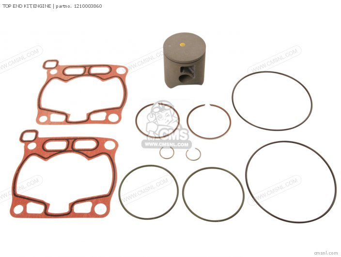 RM85 2009 K9 USA E03 TOP END KIT ENGINE