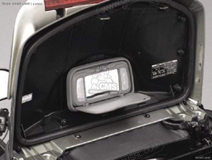 Honda TRUNK INNER LAMP 08E75MCA800G