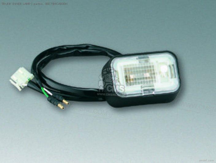 Honda TRUNK INNER LAMP 08E75MCA800H
