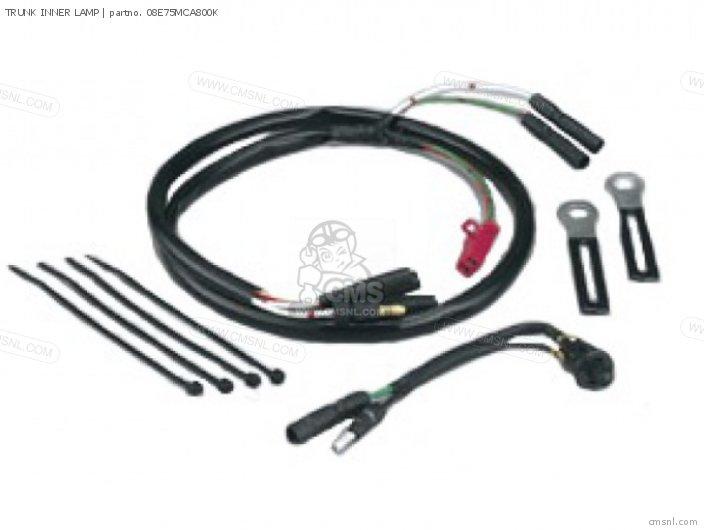 Honda TRUNK INNER LAMP 08E75MCA800K