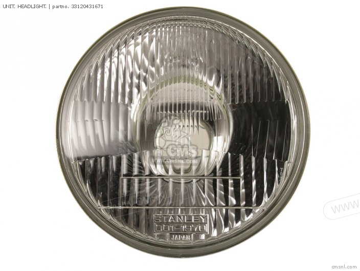 UNIT  HEADLIGHT