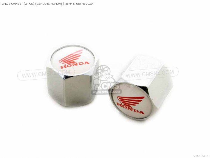 Valve Cap Set (2 Pcs) (genuine Honda) photo