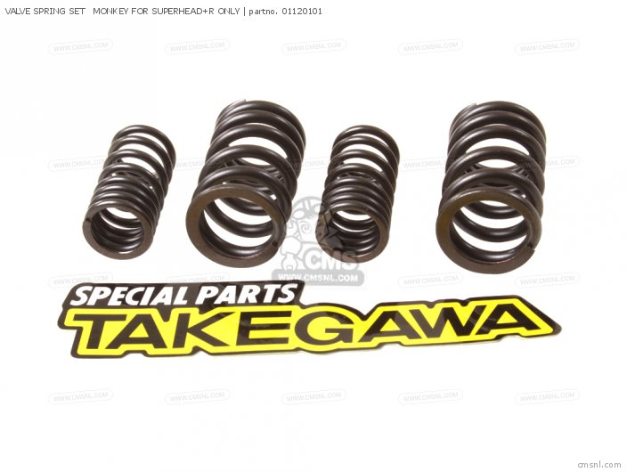 VALVE SPRING SET   MONKEY FOR SUPERHEAD+R ONLY