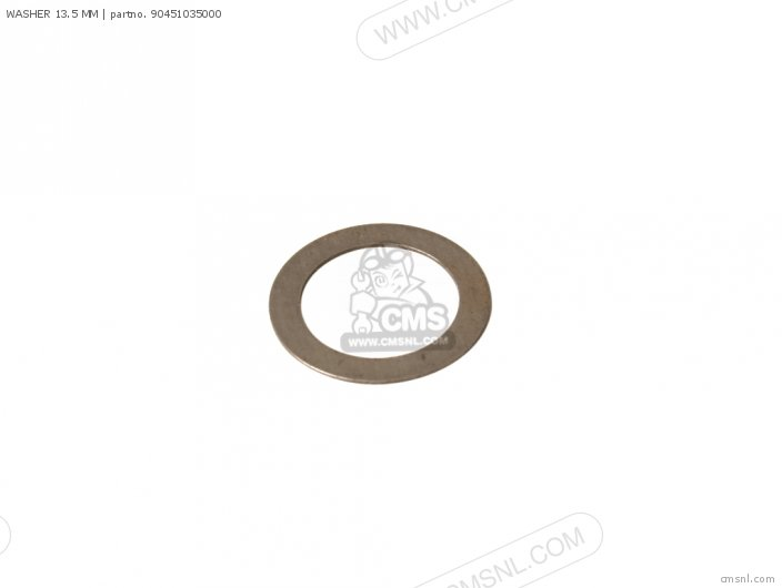 WASHER 13.5 MM