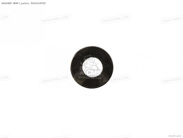 WASHER 4MM
