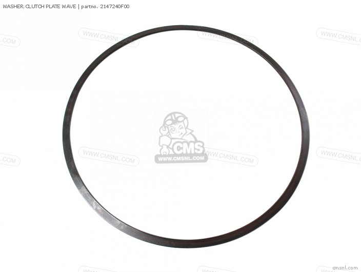 WASHER CLUTCH PLATE WAVE