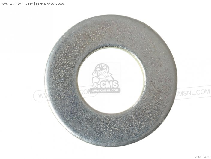 WASHER, FLAT, 10 MM