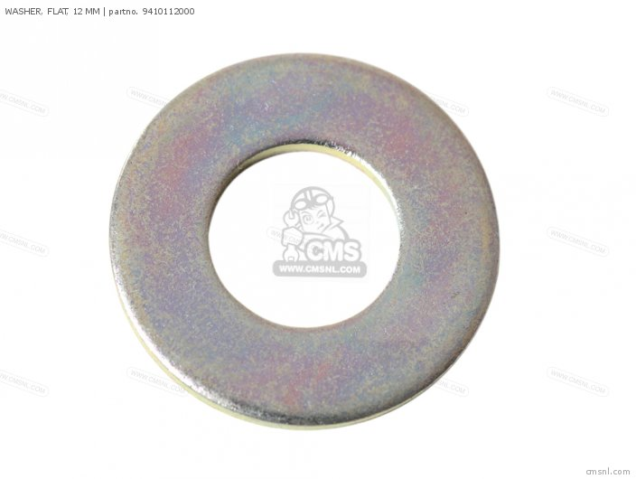 WASHER, FLAT, 12 MM