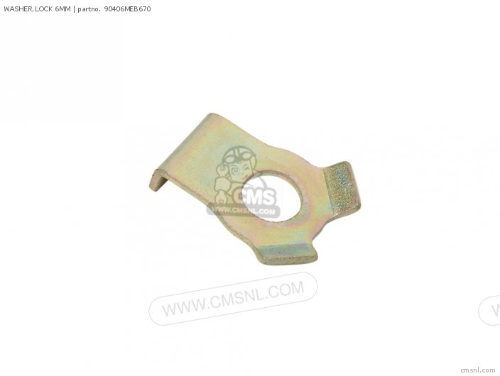 WASHER,LOCK 6MM