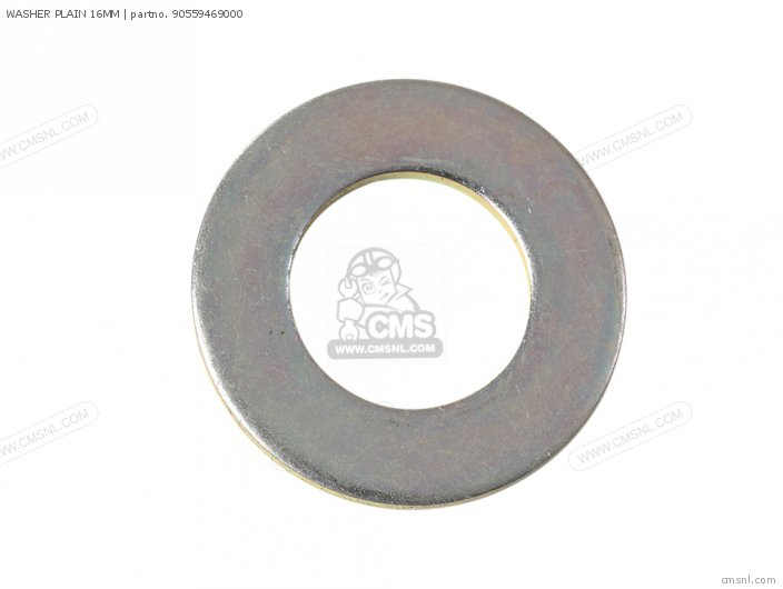 WASHER PLAIN 16MM