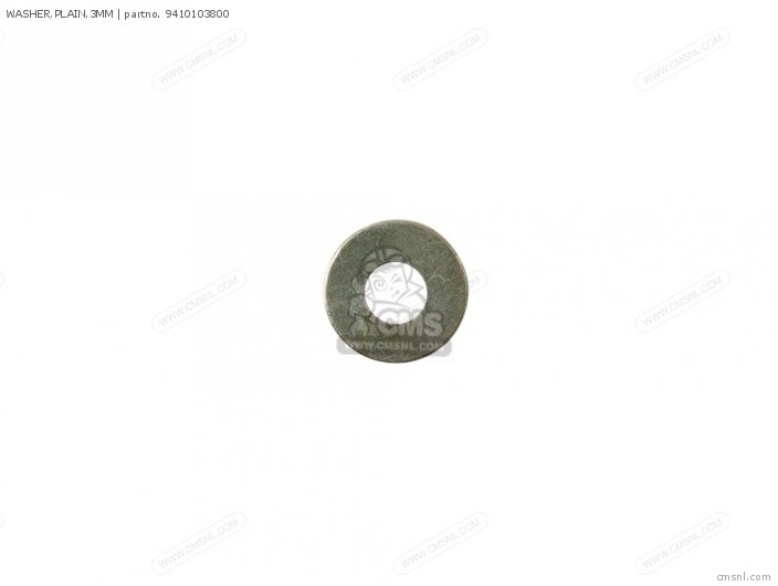 WASHER,PLAIN,3MM