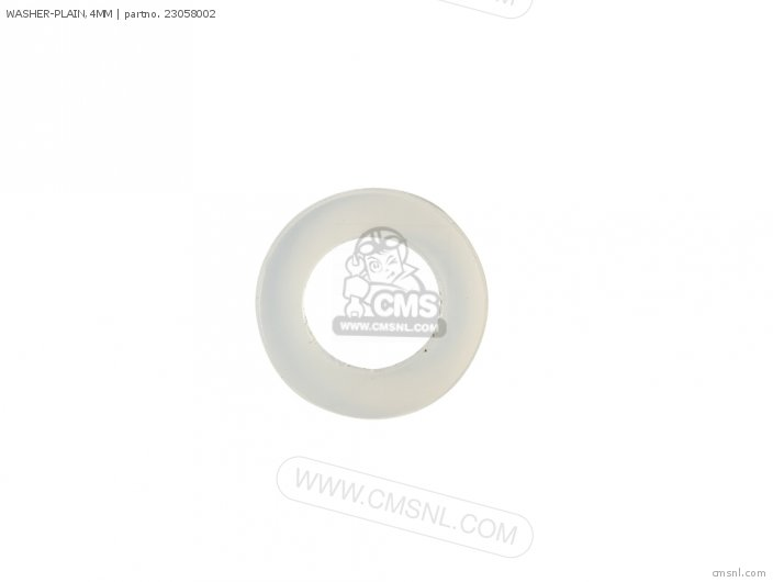 WASHER-PLAIN 4MM
