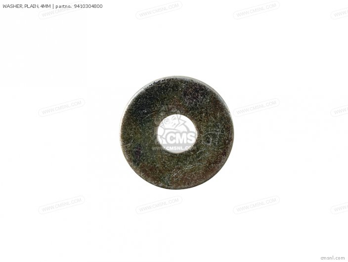 WASHER,PLAIN,4MM