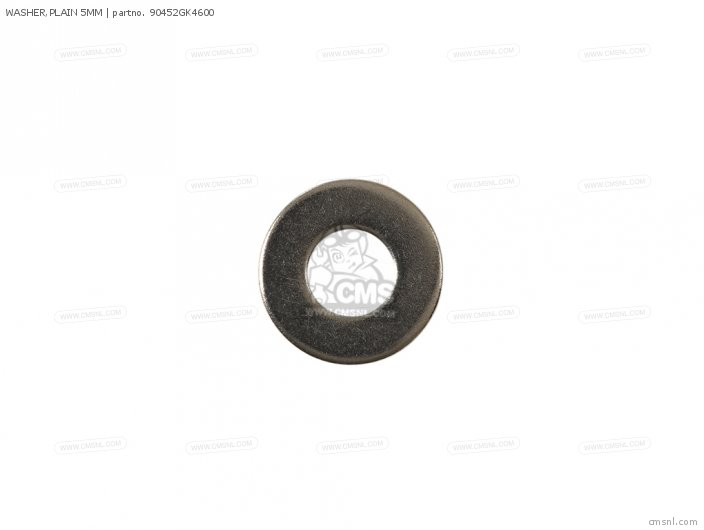 WASHER,PLAIN 5MM