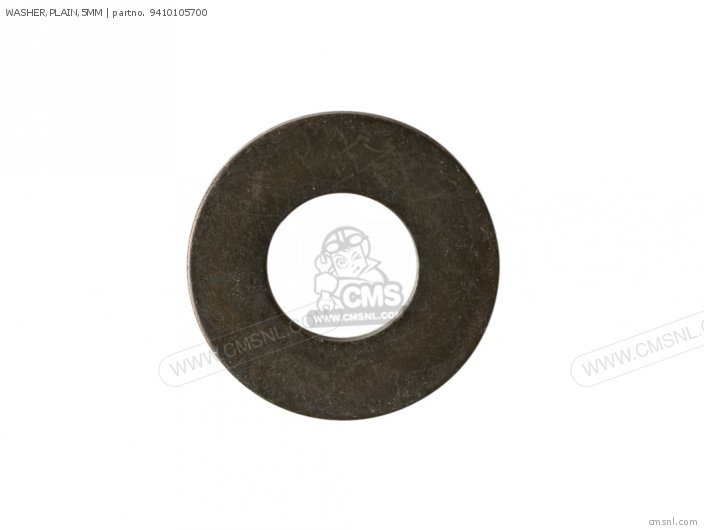 WASHER PLAIN 5MM