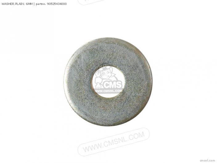 WASHER,PLAIN, 6MM