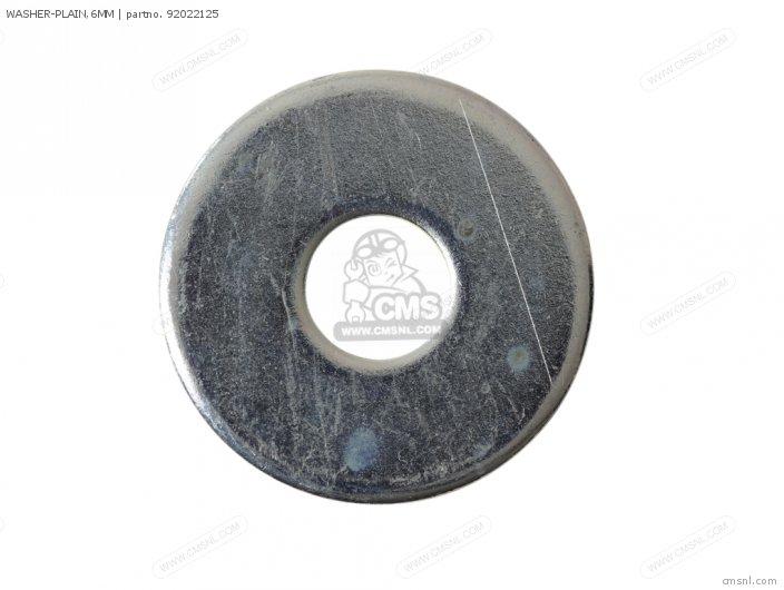 Kx85a6f Kx85 2006 Usa Canada Washer-plain 6mm