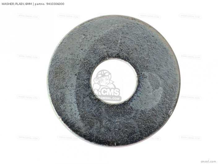 WASHER,PLAIN,6MM