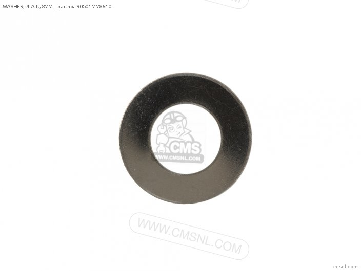 WASHER,PLAIN,8MM