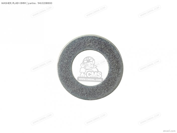 WASHER PLAIN 8MM