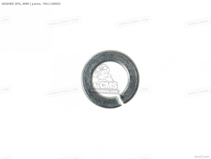 WASHER, SPG,4MM