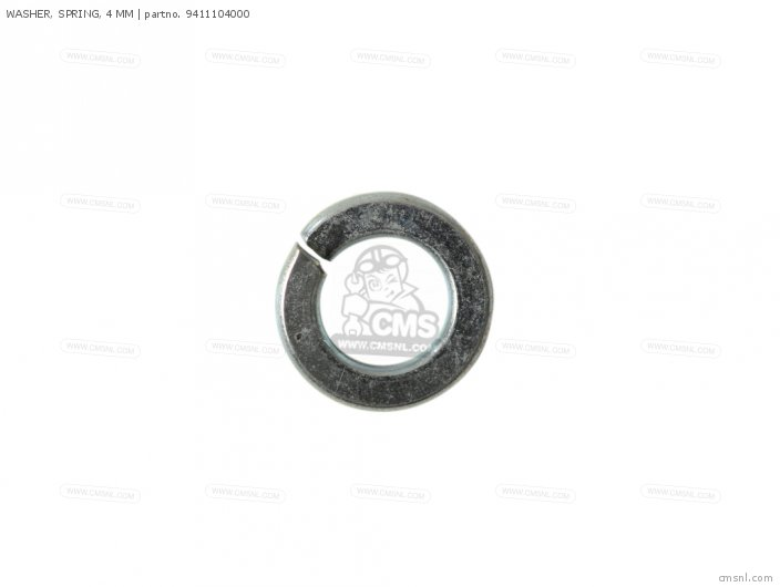 WASHER, SPRING, 4 MM