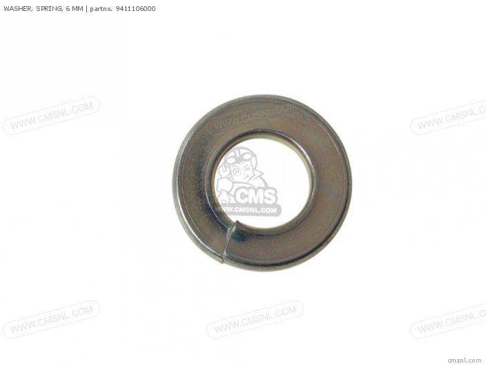 WASHER SPRING 6MM